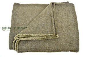 100 wool blanket Belgian Army 100% Wool Blanket Heavy Wool Military Bedding Large  100 wool blanket
