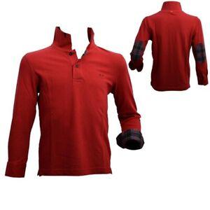 Polo-in-Caldo-Cotone-Rosso-Neonato-Sun-68-23308