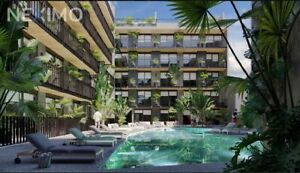 Departamento de 1 recamara en venta, centro de Playa del Carmen Quintana Roo