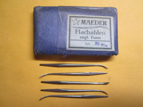 Qty 5 70mm Bootmaker Leather Shoemaker Maeder Cobbler Awls
