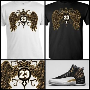 a266e6579ae0a9 EXCLUSIVE TEE SHIRT to match AIR JORDAN 12 RETRO WINGS OR ANY ...