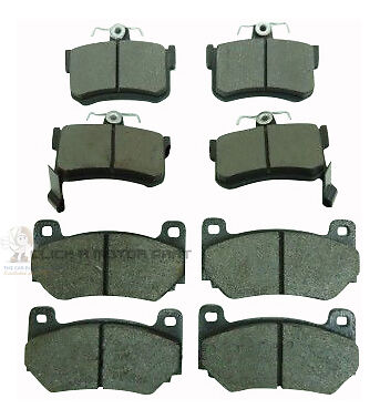 CHECK PADS ROVER MGF MGTF MG TF 135 160 02-05 FRONT /& REAR BRAKE DISC PADS