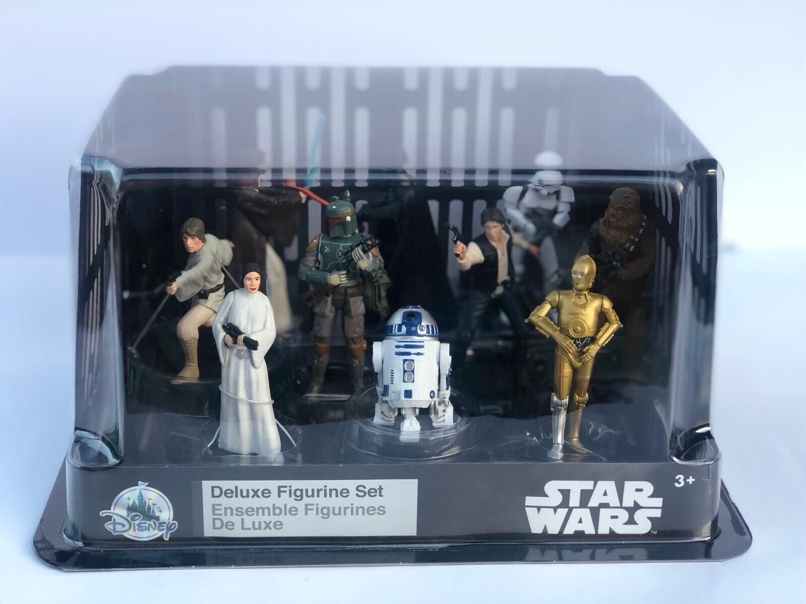 Star Wars (Set (Set (Set Of All Movie Characters) Action Figures  Ensemble Toys     a20ca9