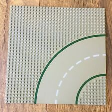 Part #609p01 Spares 32x32 Grey Curved Road Baseplate Lego Parts