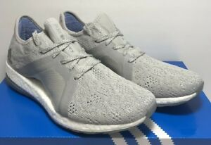 228d394f4 Adidas Womens SZ 9.5 Pure Boost X Element Running Grey Shoes BB6085 ...