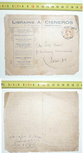 BORDEAUX @ LIBRAIRIE A. CISNEROS @ANNO 1910 - FRANCIA