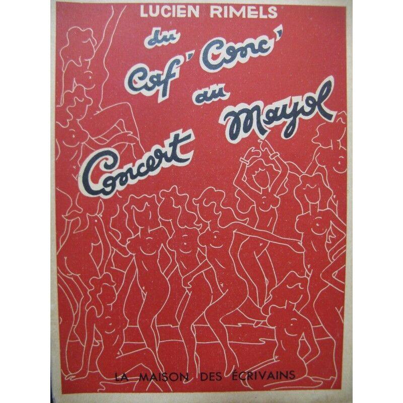 Rimels Lucien von der CAF' Conc', die Konzert Mayol 1950 Partitur Sheet Music