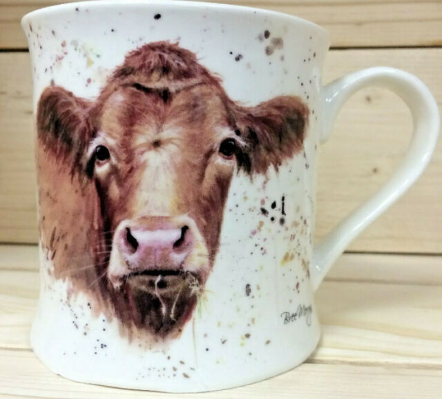 Cow Mug Fine China Mug Gertrude Bree Merryn Fine Art