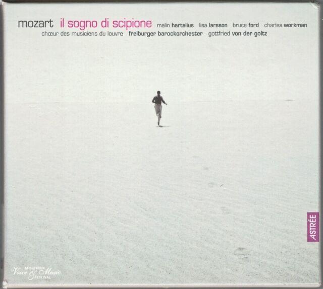 MOZART: IL SOGNO DI SCIPIONE Malin Hartelius Lisa Larsson Bruce Ford Goltz 2CD