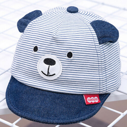 Baby Boy Girl Cartoon Peak Baseball Cap Infant Toddler Kids Cute Summer Sun Hats