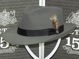 e91a56e7 STETSON CHATHAM SOFT FUR FELT FEDORA HAT | eBay