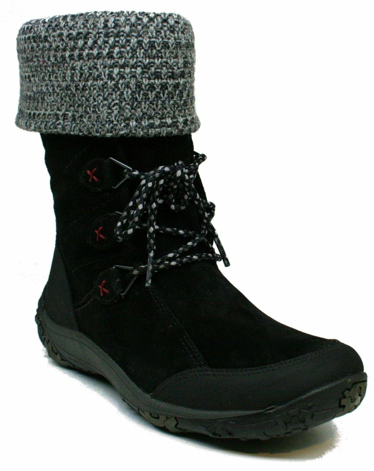 Womens Caterpillar®  Ember  P305781 Water Resistant Boots shoes Knit Cuffed Sz 8