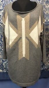 JOIE-L-Large-Cotton-Polyester-Wool-Cashmere-Blend-Sweater-EUC