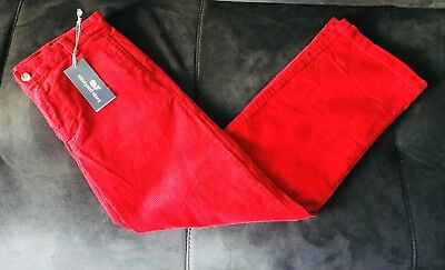 prevalent select for genuine prevalent New Boys Red Flat Front Whale Vineyard Vines Red Corduroy Pants Size 16-18  | eBay