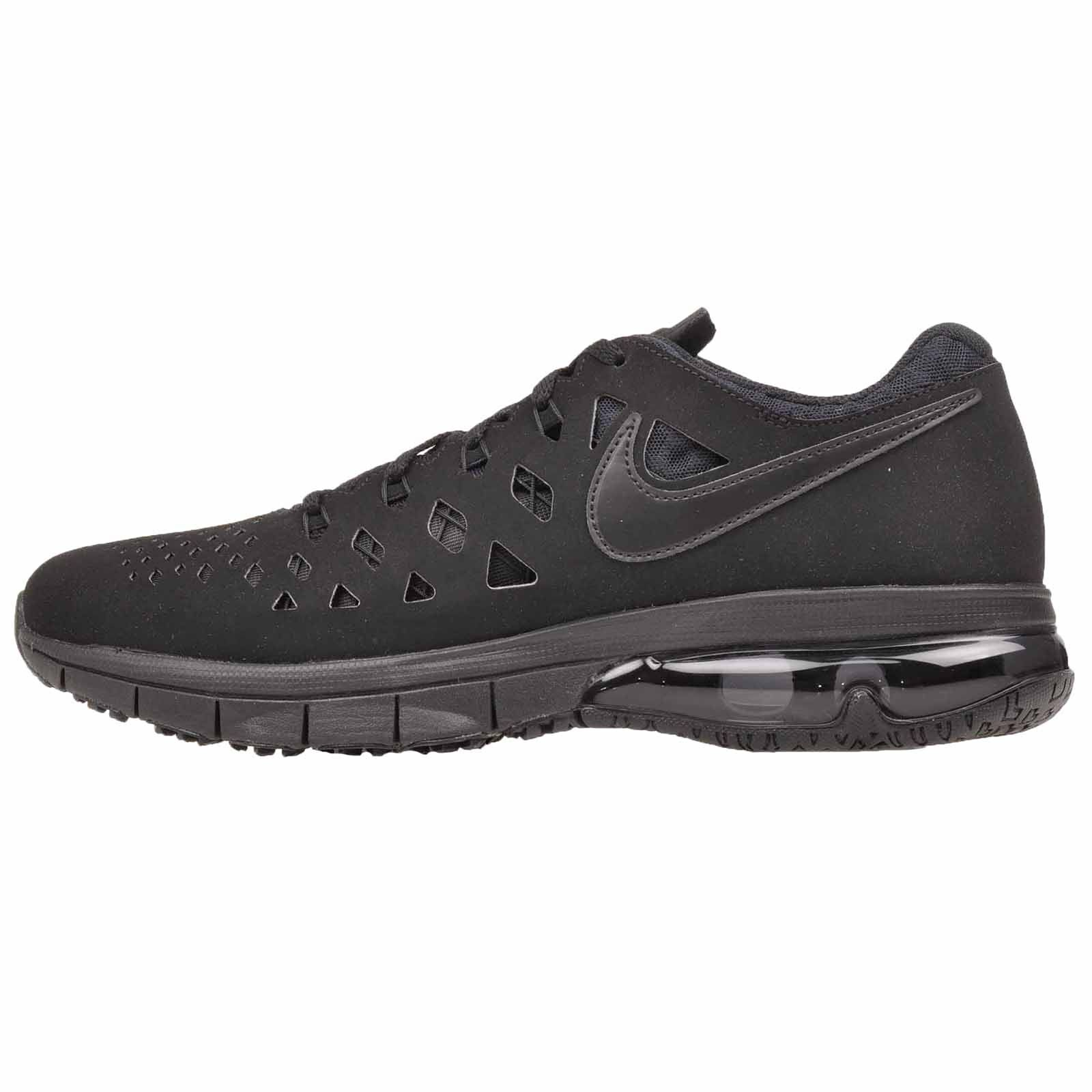 buy popular 8121a fe5f1 Nike Air Trainer Trainer Trainer 180 Cross Training Mens shoes Triple Black  NWOB 916460-003