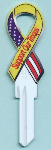 KC#RK-942 SUPPORT OUR TROOPS KEY BLANKS SC-1