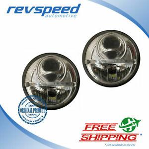 NCC-Nolden-Full-LED-Bi-LED-NEW-Gen-2-Hi-Lo-DRL-Headlights-7-034-177mm-Universal
