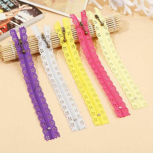 10Pcs Manufacture Tool Sewing Accessories Nylon Zipper Bud Silk Purse or Bags