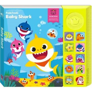 Baby Shark Pinkfong Baby Shark Official Sound Book