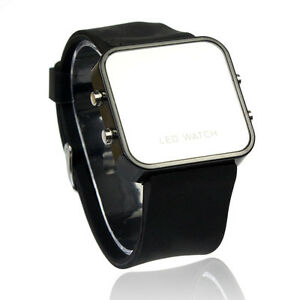 Latest-LED-Calendar-Day-Date-Silicone-Mirror-Face-Men-Lady-Wrist-Watches-UK-Z1A2