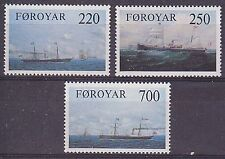 Faroe Is. 1983 Old Cargo Liners on the Faroes Run Set UM SG78-80 Cat £3.70
