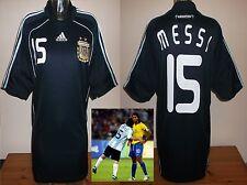 Argentina Camiseta de fútbol 2008 oro olímpico L. Messi BNWOT Rara Camiseta Maglia