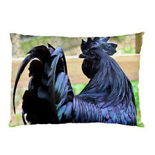 New Ayam Cemani Chicken for Pillow Case One Side Print Free Shipping