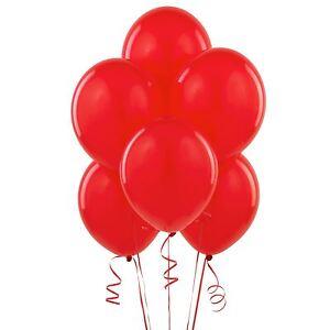 Pack-25-rouge-12-pouces-latex-perles-helium-ballons-fete-mariage-anniversaire-decoration