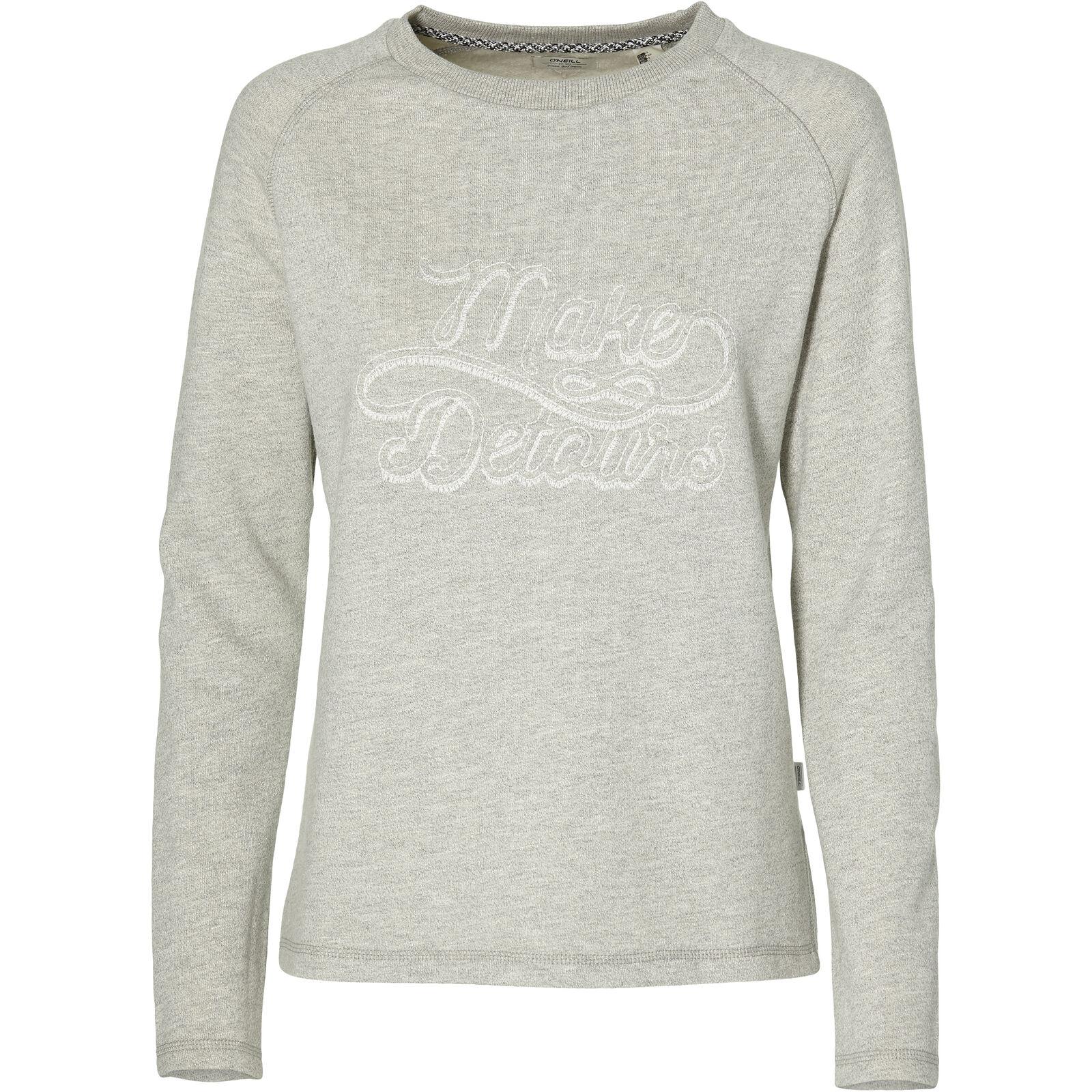 O'Neill Sweatshirt Sweater Script Crew Sweatshirt hellgrey meliert