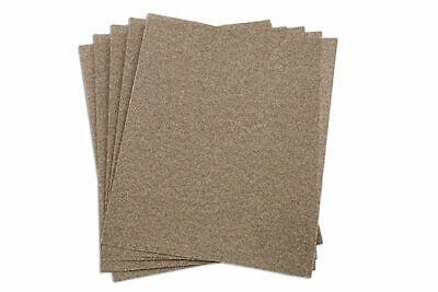 ABRACS SANDPAPER SHEETS FOR WOOD 230MM X 280MM 100 GRIT QTY 10