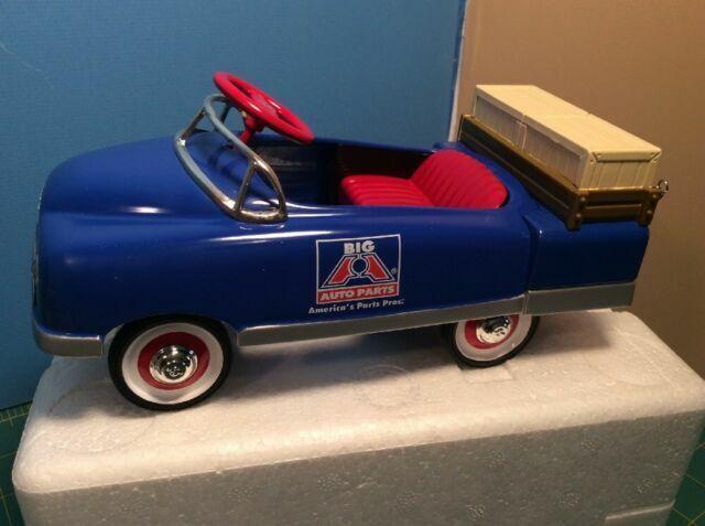 Crown Premiums Big A Auto Parts 1948 Bmc 1 6 Pedal Car Stake Bank Diecast For Sale Online Ebay