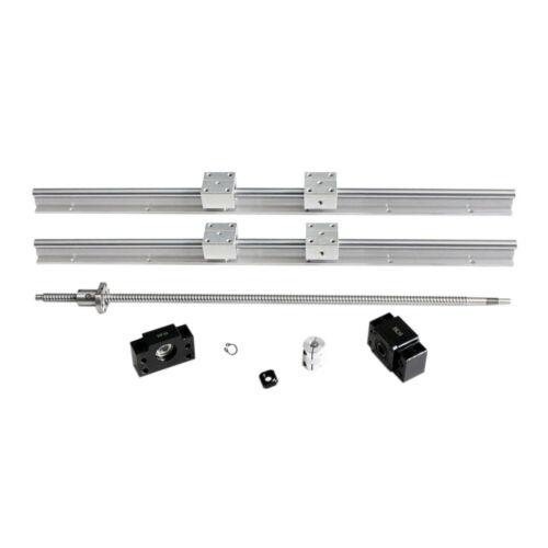 RM//SFU1204 Ballscrew Kit For CNC DIY 1 Set 12mm SBR12 Linear Rail L300-1000mm