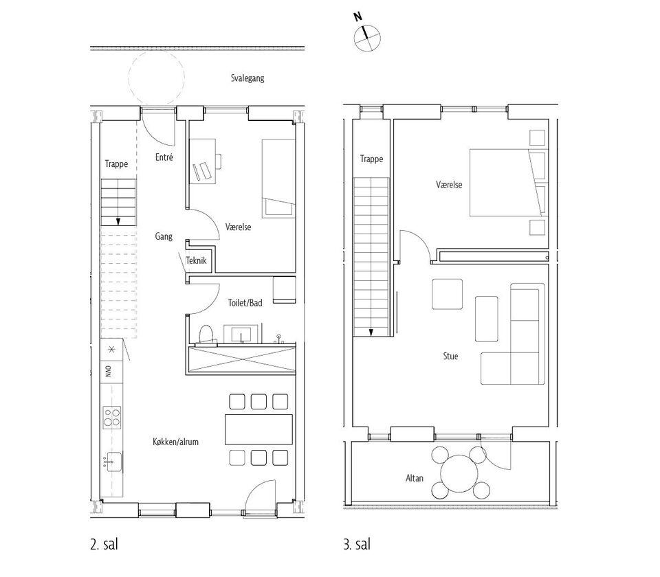 4800 vær. 4 lejlighed, m2 131, Jernbanegade