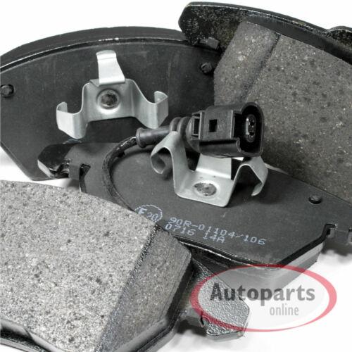 Bremsscheiben Bremsen Bremsbeläge für vorne hinten VW Caddy 3 III