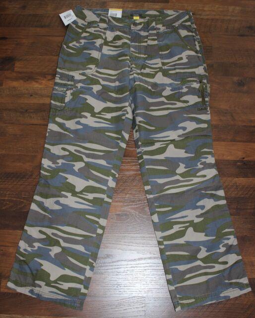 ad3a97c0f7 NEW Cabela s Womens Bayou Pants Aspen Urban Camo Cotton Ripstop Sizes 14 18