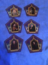 harry potter chocolate frog cards Complete Set
