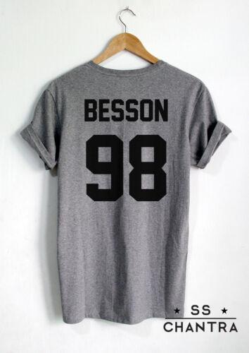 Corbyn Besson shirt Besson 98 Unisexe Imprimé sur dos Shirt
