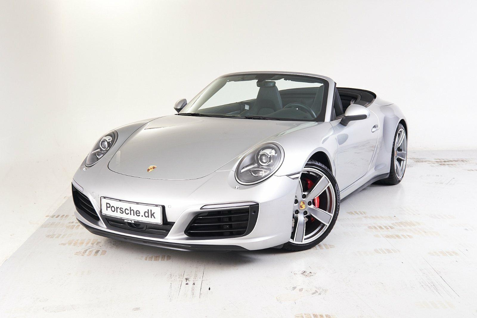 Porsche 911 Carrera 4S 3,0 Cabriolet PDK 2d - 19.992 kr.