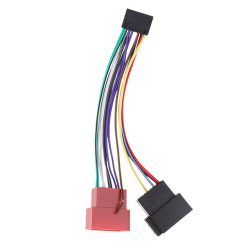 Car Stereo Radio Plug KENWOOD ISO Wiring Harness Adapter Connector 16 Pin GVUSG0