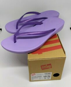 FITFLOP-Women-039-s-R07-iQushion-Pearlised-Frosted-Lavender-in-Size-7