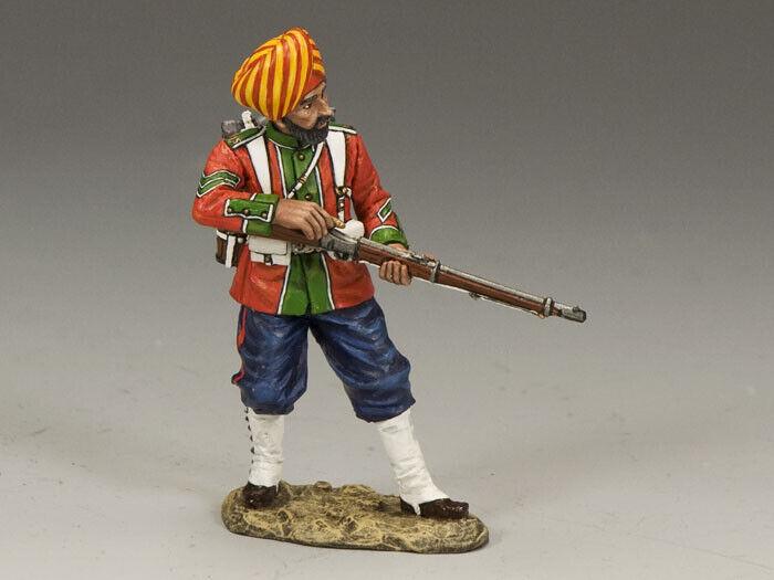 King & Country Figli di Impero SOE009M Ludhiana Sikh Regt. in Piedi Reloading