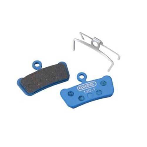 Elvedes MTB Organic Disc Brake Pads Avid XO Trail SRAM Guide bolt clip /& spring