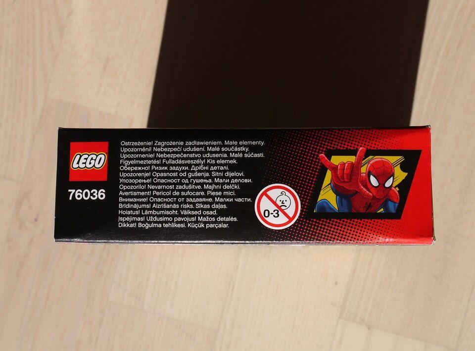 Lego Super heroes, Lego 76036, Carnage's SHIELD Sky