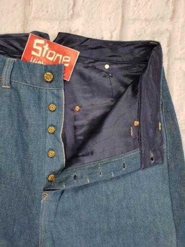 580 Nuovo goccia £ Fishtail foderato Cinch cavallo Levis Picker A Jeans conica rosso W36 qPOS7
