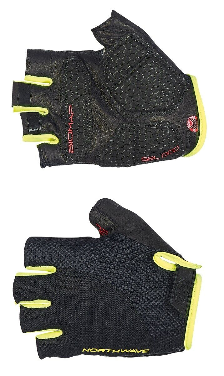 Northwave Extreme Fahrrad Handschuhe Handschuhe Fahrrad kurz schwarz/gelb 2019 052b9e