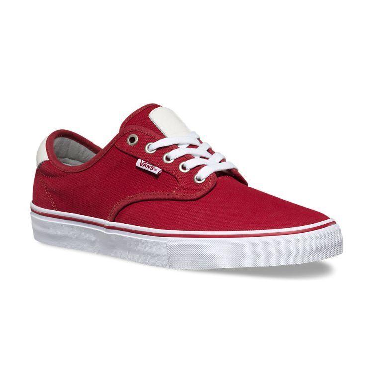 Vans Off the Wall Chima Ferguson Pro Waxed Canvas Red Scarpe Dahlia Scarpe Red Uomo 13 8dfc57