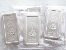 2009 Cook Islands Ship $5 Five Dollar 100 Gram Silver Bullion Coin Bar Sealed