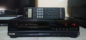PHILIPS VR6421 VIDEOREGISTRATORE VHS 4 CON FUNZIONE SP-LP E TELECOMANDO