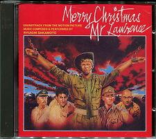 """RYUICHI SAKAMOTO """"Merry Christmas Mr. Lawrence, Soundtrack"""" No Barcode, Japan CD"""