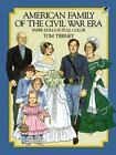 Dover Paper Dolls: American Family of the Civil War Era by Tom Tierney (1985, Paperback)